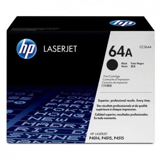 CC364A - Noir - 64A - Toner générique équivalent HP