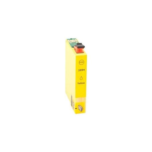 """T2994 - 29XL - Jaune - Cartouche Compatible Epson XL """"Fraise"""" Claria"""