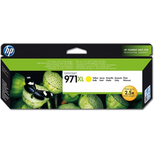 971XL - Jaune - Cartouche HP OfficeJet Pro