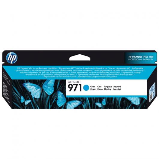 971 - Cyan - Cartouche HP OfficeJet Pro