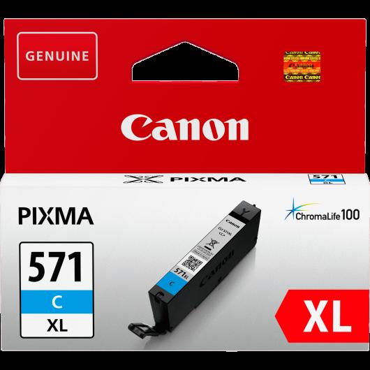 CLI-571C XL - Cyan - Cartouche Haute Autonomie Canon