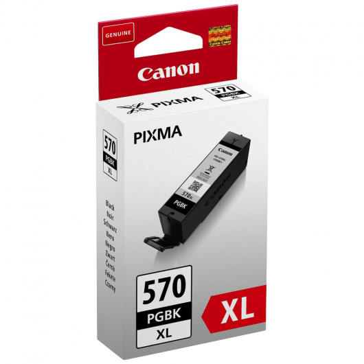 PGI-570PGBK XL - Noir - Cartouche Haute Autonomie Canon