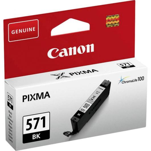 CLI-571BK - Noir - Cartouche Canon