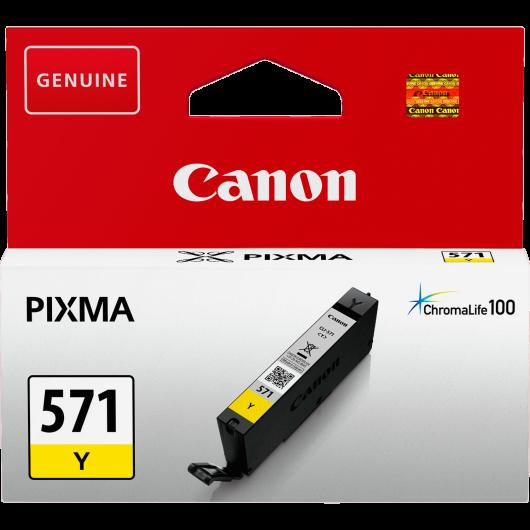 CLI-571Y XL - Jaune - Cartouche Haute Autonomie Canon