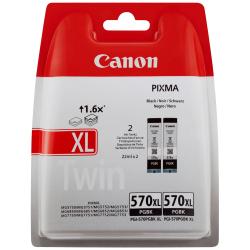 Canon PGI-570PGBKXL - 0318C007 - Noir Photo - Pack de 2 Cartouches d'encre Canon