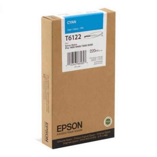 T6122 - Cyan - Cartouche Epson