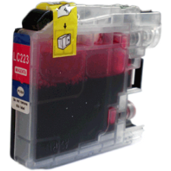LC-223M - Magenta - Cartouche Compatible Brother
