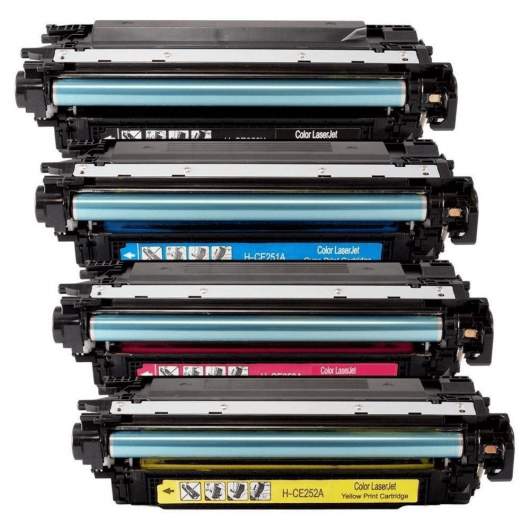 CE250XD - 504X - Noir - Pack Toner XL Compatible HP (Lot de 2)