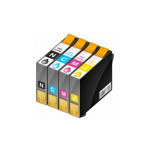 T0615 - Noir / Couleurs - Pack Compatible Epson (Lot de 4)