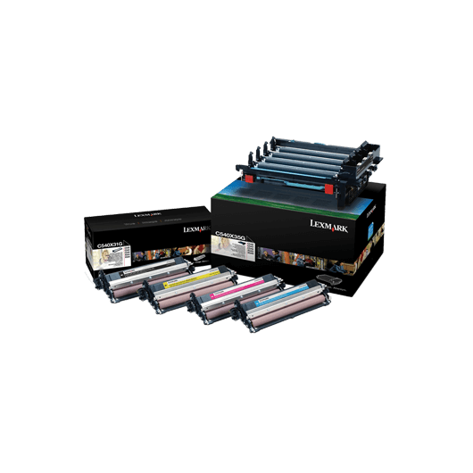 C540X74G - Couleurs - Kit Image LEXMARK