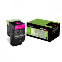 Lexmark 802HM - Magneta - Cartouche de toner Lexmark