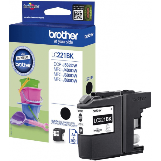 LC-221BK - Cartouche Brother