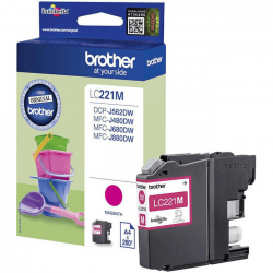 Brother LC-221M - Magenta - Cartouche d'encre Brother