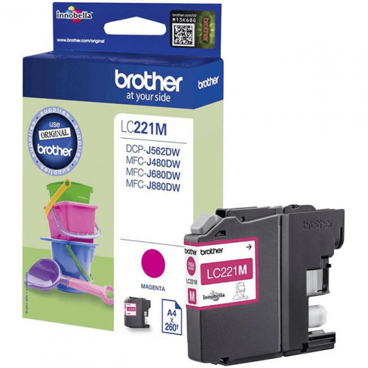 LC-221M - Cartouche Brother