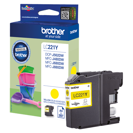 LC-221Y - Cartouche Brother