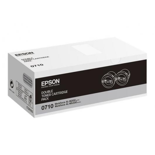 EPSON C13S050710 - Pack de 2 Toners Epson