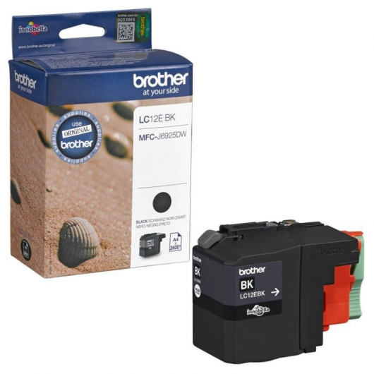 Brother LC-12EBK - Cartouche Brother