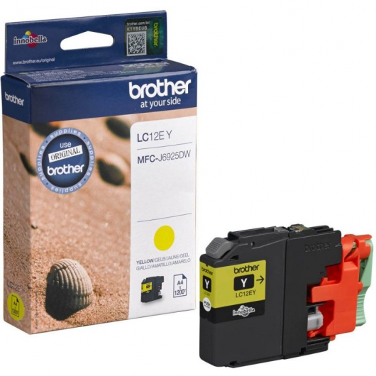 Brother LC-12EY - Cartouche Brother
