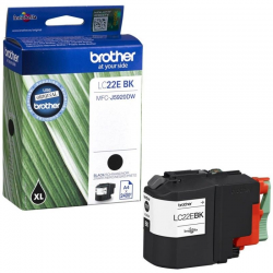 Brother LC-22EBK - Noir - Cartouche d'encre Brother