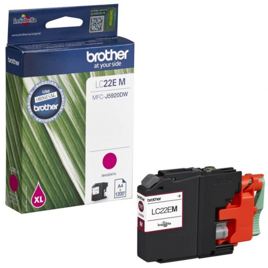 Brother LC-22EBK - Cartouche Brother