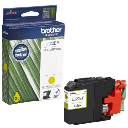 Brother LC-22EY - Cartouche Brother