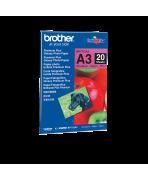 Brother BP71GA3 - Papier Photo Brillant - 20 feuille(s)