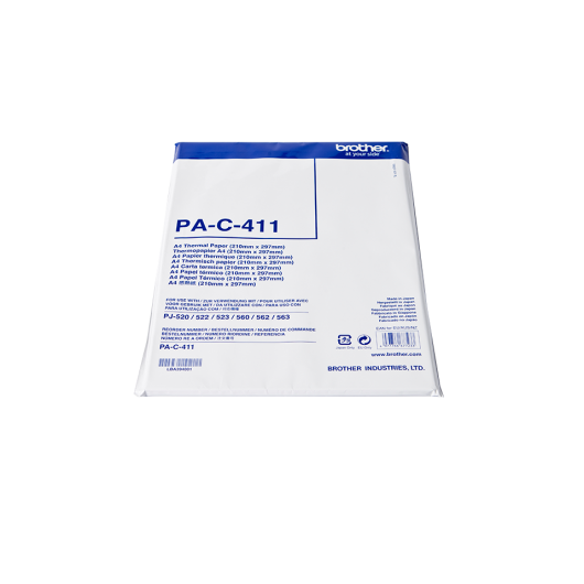 Brother PAC411 - Papier Thermique Brother