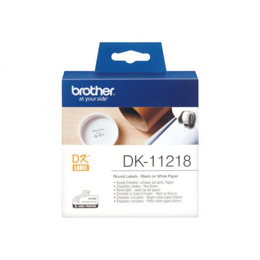 Brother DK-11218 - étiquettes - 1000 unités