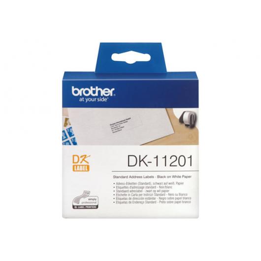 Brother DK-11201 - étiquettes - 400 unités