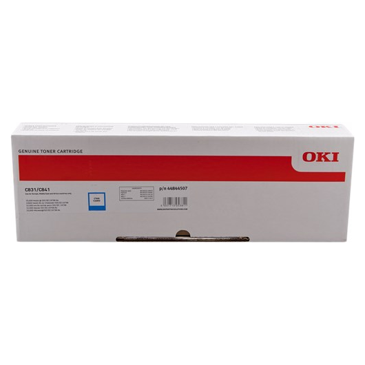 OKI 44844507 - Cyan - Cartouche Toner OKI