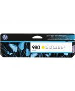 HP D8J09A - HP 980 - Jaune - Cartouche HP