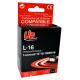 10N0016 - 16 - Noir - Cartouche Compatible Lexmark