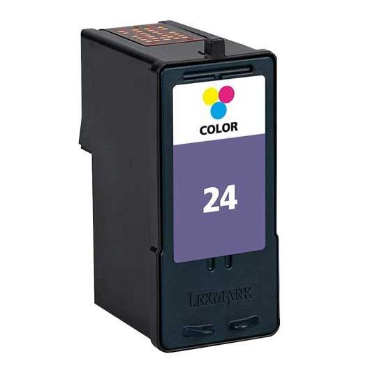 Lexmark 18C1524E - Couleurs - Cartouche Lexmark N°24