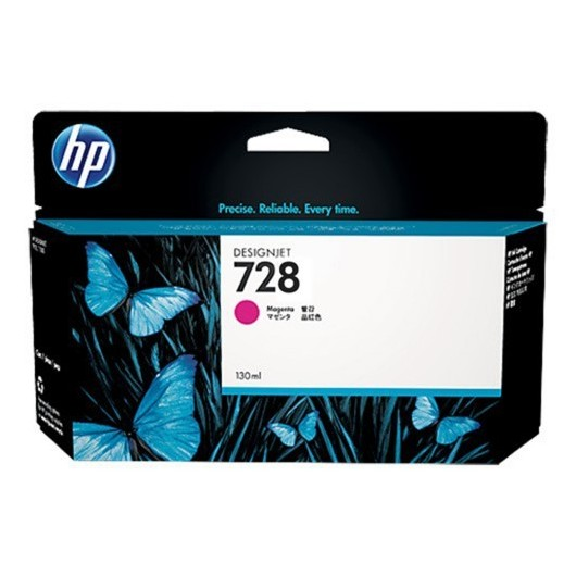 HP F9J66A - HP 728 - Magenta - Cartouche HP 130 ml