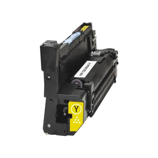 HP 824A - HP CB386A - Jaune - Tambour d'imagerie Compatible HP