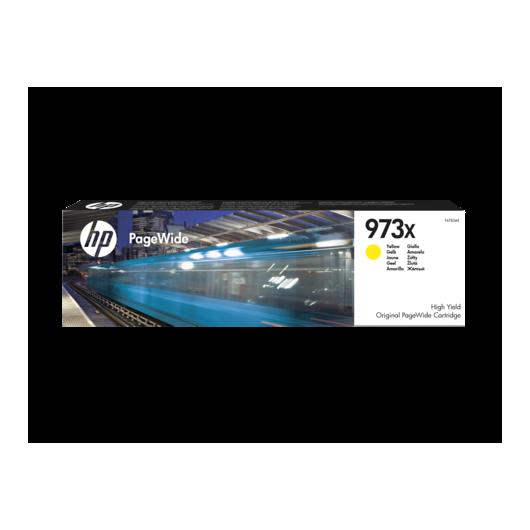 HP 973X- HP F6T83AE - Jaune - Toner HP