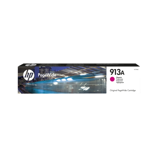 HP 913A - HP F6T78AE - Magenta - Cartouche d'encre PageWide HP