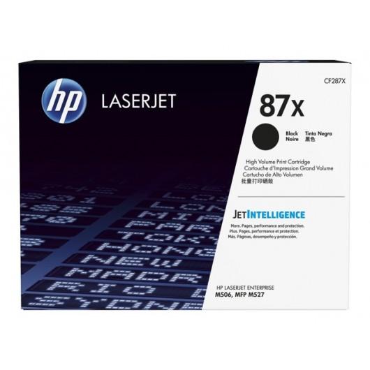 HP CF287X - HP 87X - Noir - Toner LaserJet grande capacité HP