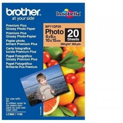 Brother BP71GP20 - papier photo brillant - 20 feuille(s)