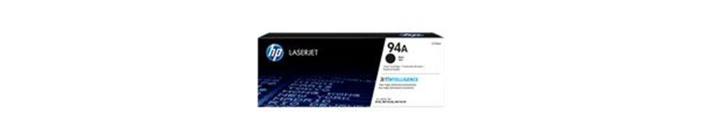 Cartouche de toner HP CF294A (HP 94A) CF294X (HP 94X) originale et compatible au meilleur prix.