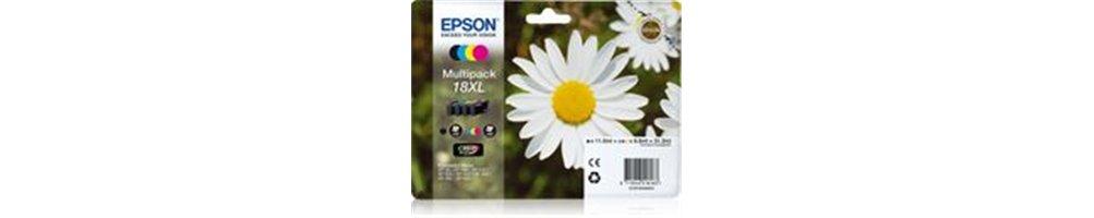Cartouches pour imprimante Epson 18 / 18XL - Pâquerette Pas Chères – Dès demain chez vous.