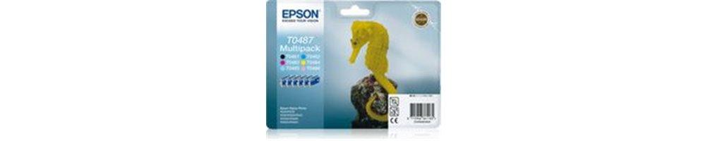 Cartouches pour imprimante Epson T048x - Hippocampe Pas Chères – Dès demain chez vous.