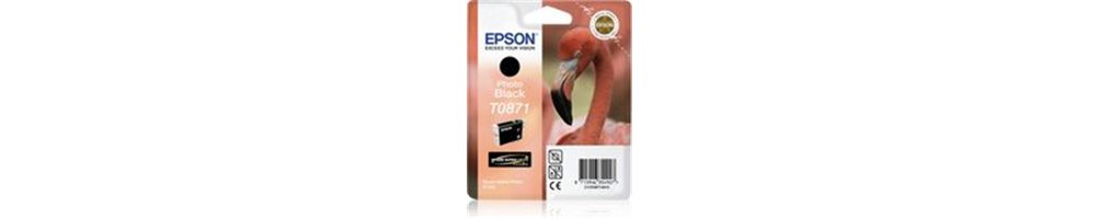 Epson T087x - Flamant Rose