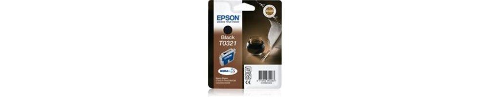 Cartouches pour imprimante Epson T0321 - Plume Pas Chères – Dès demain chez vous.