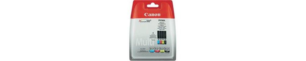 Cartouches pour imprimante Canon PGI-550 / CLI-551 Pas Chères – Dès demain chez vous.