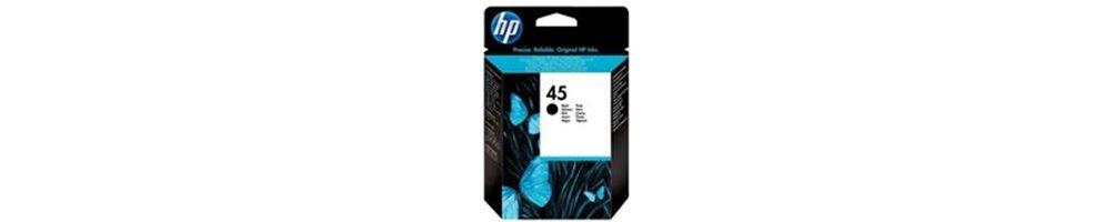 Cartouches pour imprimante HP 45 Pas Chères – Dès demain chez vous.