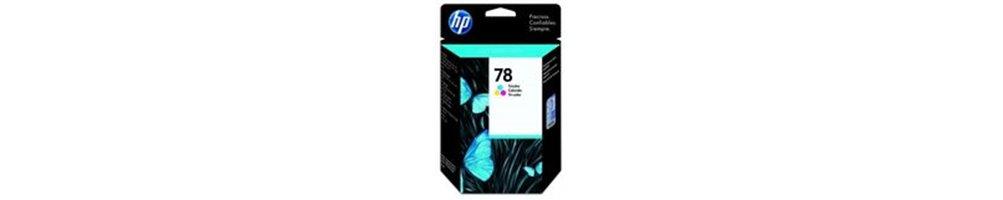 Cartouches pour imprimante HP 78 Pas Chères – Dès demain chez vous.