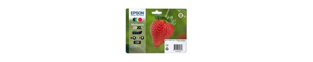 Cartouches pour imprimante Epson 29 / 29XL - Fraise Pas Chères – Dès demain chez vous.