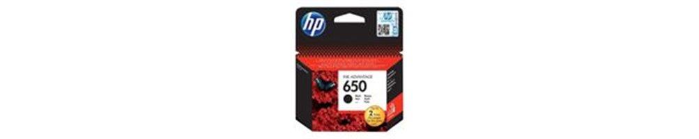 Cartouches pour imprimante HP 650 Pas Chères – Dès demain chez vous.