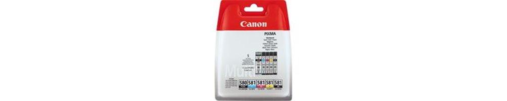 Cartouches pour imprimante Canon PGI-580 / CLI-581 Pas Chères – Dès demain chez vous.